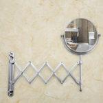 Оригинал FRAPF6406иF6408НастенныйМакияж Зеркало Профессиональное зеркало заднего вида Регулируемая столешница 180 Вращающаяся лупа