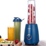 Оригинал KONKAЭлектрическийсоковыжималкаBlenderсдвумя бутылочными соками Овощи Фруктовый молочный коктейль 300W 220V Electric Blender