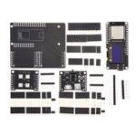 Оригинал Wemos® Dual Base ESP32 Rev1 ESP32 OLED Модуль и X-2812B Батарея Щит