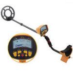 Оригинал MD9020C Профессиональный подпольный детектор металлических детекторов LCD Treasure Gold Hunter Finder Scanner