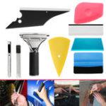 Оригинал 8 in 1 Авто Window Tint Набор Набор для виниловых пленок Скребки многоцветные