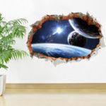 Оригинал Miico3DТворческийПВХстеныстикеры Домашний декор Mural Art Съемные стены стены наклейки
