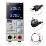 Оригинал MCH-K305D 30V 5A 4-разрядный источник питания постоянного тока Регулируемый регулятор EU Plug / US Plug Upgrade Version