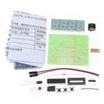 Оригинал 5V DIY Цифровой вольтметр Термометр Набор Электронное производство