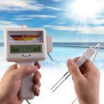 Оригинал PC101 Тестер качества воды PH CL2 Измеритель уровня хлора Монитор Бассейн Бассейн Spa Tester