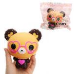 Оригинал QQ Bear Squishy 12 * 11 * 8CM медленно растет с подарком коллекции упаковки
