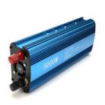 Оригинал 5000W DC 12 / 24V до AC 220V Солнечная Инвертор мощности LED Дисплей Конвертер USB Sine Wave