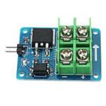 Оригинал 10Pcs 3V 5V Низкое управление Высокое напряжение 12V 24V 36V MOS Полевой транзисторный модуль PWM Мотор Регулятор скорости для Arduino