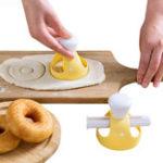 Оригинал ТворческийDIYDonutMoldCakeDecorating Набор Десерты Хлеборезка Производитель хлебопекарной кухни Инструмент