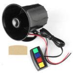 Оригинал 4 Звук Громкий 110дБ 30 Вт 12В Сигнализатор пожарной сигнализации Сирены для Авто мотоцикл RV