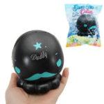 Оригинал Cutie Creative Black Octopus Squishy 16см Медленный рост с подарком коллекции упаковки Soft