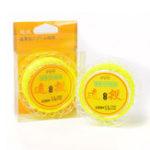 Оригинал Bobing100m0.8#-8.0# Nylon Монофиламентная линия Пресная вода Cast Рыбалка Линия Fluoresaled Yellow