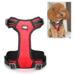 Оригинал NylonСобакаЖгутпрокладкидляремней безопасности Тип Mesh Pet Leash Breathable Adjustable SML XL