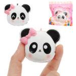 Оригинал Panda Head Squishy 14.5cm Медленное восхождение с подарком коллекции упаковки Soft Toy
