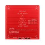 Оригинал Красный цвет 12/24 В 214 * 214 * 1,6 мм MK2B Платформа с подогревом для 3D-принтера