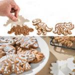 Оригинал 3Pcs/SetСимпатичныединозаврыShaped куки-резаки Набор Кухня Bakeware Декоративные Инструмент Форма для выпечки