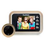 Оригинал DanminiW82.4inchHDВидеодомофон Аудиодомофон 1080P IR камера Энергосберегающая карта TF поддержки