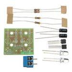 Оригинал Яркий DIY LED Вспышка Набор Простое электронное производство 3-9 В Набор