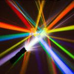 Оригинал 2Pcs 2.2×2.2×2.2cm Оптическое стекло Образовательная призма Cross Dichroic X-Cube Glass Prisms RGB Combiner Украшение Стеклянный разделитель Prism