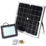 Оригинал Солнечная Panel Powered 120 LED Security Motion Датчик Прожектор Водонепроницаемы На открытом воздухе Сад Light + Remote