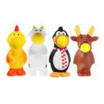 Оригинал Новинки Игрушки Squeeze Pop Out Shoot Ball Animal Кукла Стресс Relief Vent Игрушка Смешной подарок с упаковкой