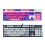 Оригинал 104 Ключ DSA-профиля PBT Бланк Keycaps Key Caps Набор для Механический Клавиатура