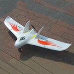 Оригинал Свободное 1026-миллиметровое крыло Wingspan EPO Delta Wing FPV Flywing RC Airplane KIT