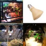Оригинал AC220V 7.5CM E27 Желтый Shell Рептилия Pet бульона Утолщение Керамический Излучатель тепла лампа Лампа