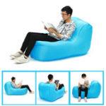 Оригинал IPRee®PortableНаоткрытомвоздухеНадувной ленивый диван-складной стул Водонепроницаемы Оксфорд-лаунджер Макс. Нагрузка 150 кг