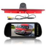 Оригинал 7 дюймов Авто Вид сзади камера Монитор w / Тормозной свет реверсивный камера Набор Fit Mercedes Sprinter