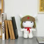 Оригинал XIAOMI Белая фаршированная плюшевая игрушка Classic MITU 25cm Cute Soft Кукла Kids Best Gift