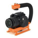 Оригинал U-Grip Handheld Stabilizer Shoe Phone камера Крепление для Canon DSLR Rig камера Видеокамера