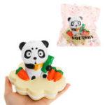 Оригинал NO NO Panda Squishy 13.5 * 10CM Медленный рост с подарком коллекции упаковки Soft Toy