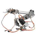 Оригинал KDX DIY 6DOF Алюминиевый робот-манипулятор 6 Ось вращения Механический Ручка робота Набор с сервоприводами