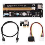 Оригинал PCI-E Riser Card 1x до 16x USB 3.0 VER 007S 008S 009S Плата расширения расширителя BTC Плата расширения