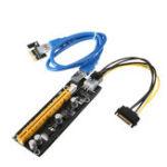 Оригинал USB 3.0 PCI-E Render Card Extender Adapter PCI-E Карта расширения для интеллектуального кабеля
