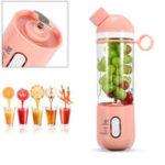 Оригинал 400млUSBэлектрическийфруктовыйсоковыжималка Smoothie Blender Портативный чайник для путешествий бутылка сок кубок