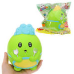 Оригинал WOOW Squishy Dinosaur Chef 15.5CM Slow Rising Soft Collection Gift Decor Toy Оригинальная упаковка