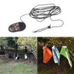 Оригинал 3.2MПортативныйНаоткрытомвоздухеПутешествия Nylon Одежда для стирки стиральной одежды Веревка С Camo Сумка