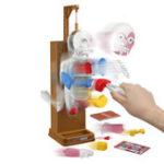 Оригинал Новинки Игрушки Gag Trick Joke Gift Собранные игрушки Terrorist Human Body Model 3D Puzzle