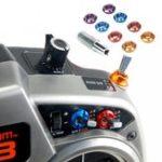 Оригинал 8PCS Дистанционное Управление Цветная гайка переключателя для передатчика RC Spektrum