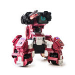 Оригинал Geio Smart Battle Armored AI Robot App Control Vision Recogonition Toys