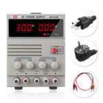 Оригинал 30V 3A 110V / 220V Портативный цифровой LED Источник питания постоянного тока Регулируемый регулятор EU Plug / US Plug