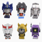 Оригинал MU DIY Mini Transformers Модельное здание Набор 3D Metal Nano Puzzle Kids Toys Collection