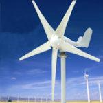 Оригинал 12V / 24V 400W S3 Алюминиевая рама 3/5 Лопасти Малый горизонтальный ветрогенератор ветротурбины NE-400s2