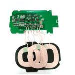 Оригинал Bakeey 3 Катушки DIY Материал Qi Беспроводное зарядное устройство PCBA Launch Board 5V 2A для смартфонов