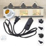 Оригинал E27 Oblique Mouth Crawler Reptile Керамический Свет лампы Lampholder Разъем Адаптер лампы AC110-240V