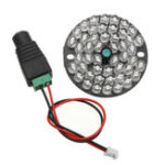 Оригинал 48 LED 850 нм Просветитель IR Инфракрасная ночная лампа для ночного видения Лампа для 50 охранных систем видеонаблюдения камера
