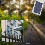 Оригинал 5W Солнечная Powered PIR Motion Датчик 48 LED Street Light Водонепроницаемы Стена Лампа для На открытом воздухе Сад