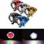 Оригинал 12-80V 125W U32 мотоцикл Angel Eyes Lights LED Противотуманная фара дальнего света